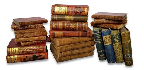 picture of a books antique cloth books per metre