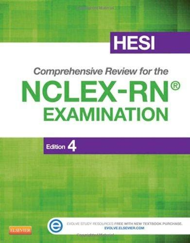 hesi comprehensive review for the nclex rn examination e book hesi comprehensive review for the nclex rn examination 4e