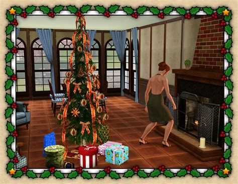 sims 3 weihnachtsbaum around the sims 3 custom content downloads objects