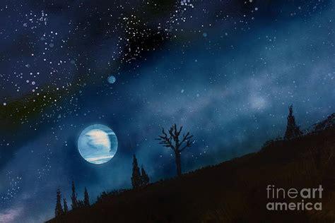 spray painting sky sky painting by bill richards