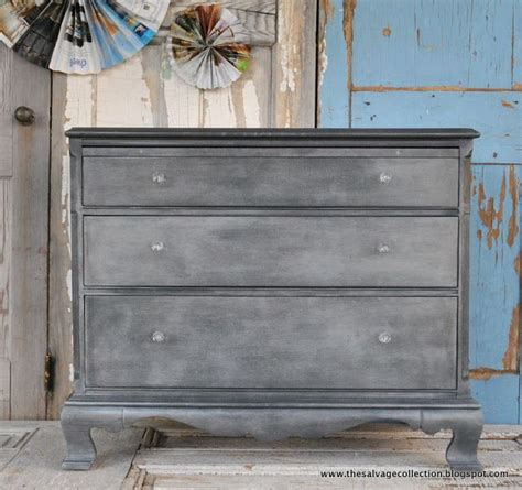 diy graphite chalk paint annie sloan graphite faux zinc tutorial crafty stuff to