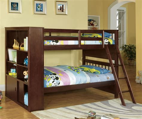 bookcase bunk beds dakota ridge bookcase bunk bed andrew s furniture