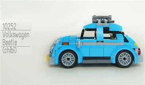 Lego Volkswagen Beetle by Lego Creator Volkswagen Beetle 10252 Tiny Version Of It