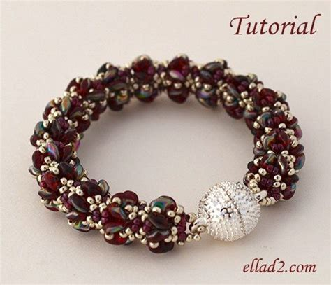 how to do beading bracelet merlot beading patterns and tutorials by ellad2
