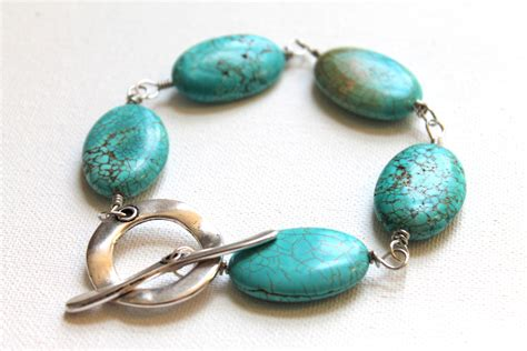 how to make turquoise jewelry wire wrapped turquoise bracelet tutorial emerging