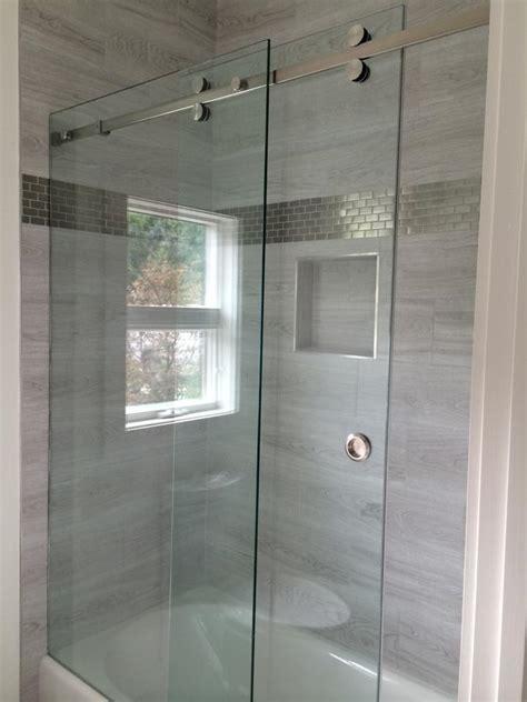 Frameless Tub Shower Doors by Gallery Of Frameless Showers Mia Shower Doors