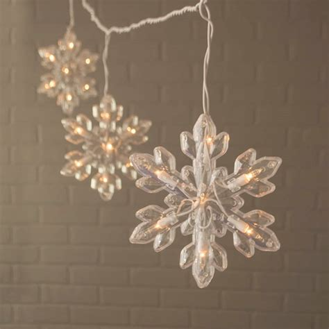 snowflake lights indoor no dr 6203 01 lights and decor snowflake string lights
