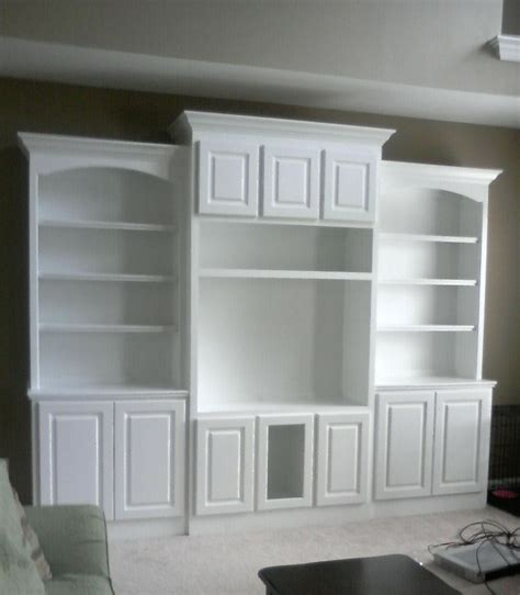 entertainment center bookshelves doug bolt woodworking built in bookcase and matching