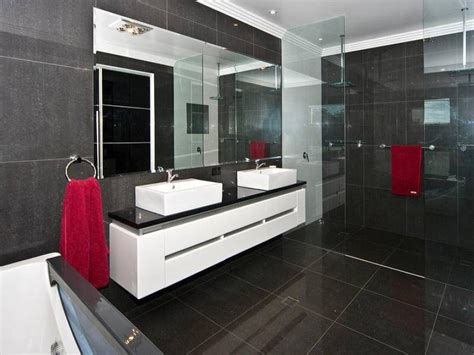 bathroom images modern modern bathroom design with built in shelving using