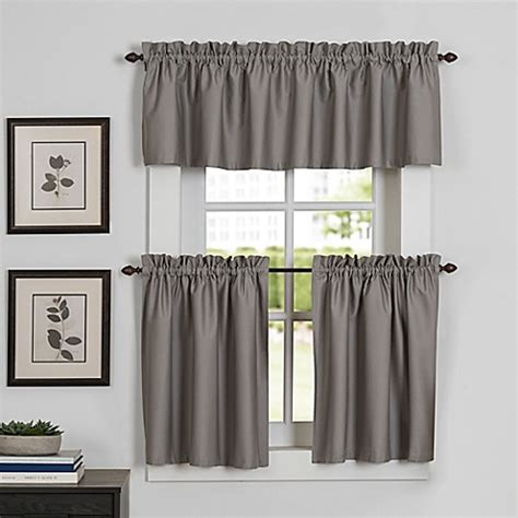 curtain for kitchen newport kitchen window curtain tier and valance bed bath