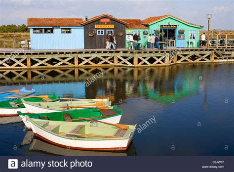 charente maritime ile d oleron port des salines and its stock photo royalty free