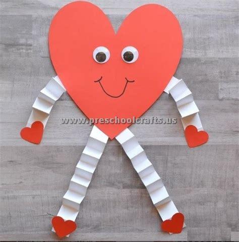 day craft valentines day craft ideas for toddler preschool crafts
