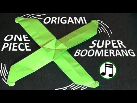 origami boomerang easy 종이접기의 세계 수퍼 부메랑 장난감 shafer 종이접기 동영상