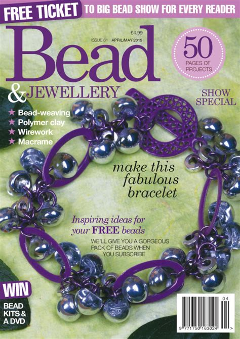 bead and jewellery magazine bead jewellery april may 2015 187 pdf magazines archive