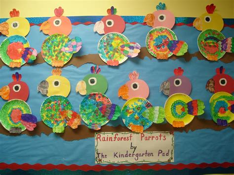 paper craft for kindergarten paper plate bird craft paper crafts