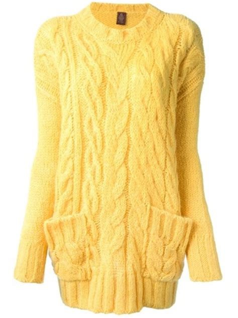 yellow knit sweater sweater yellow cable knit wheretoget