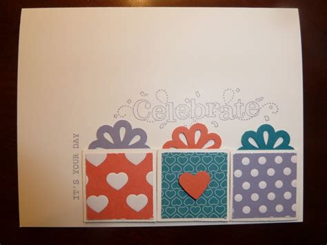 up birthday cards birthday card stin up sts card ideas