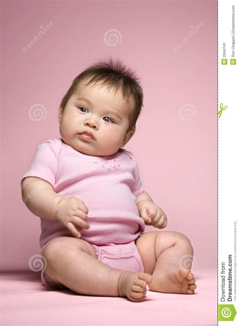 the of the baby sat baby sitting up stock image image 2044741