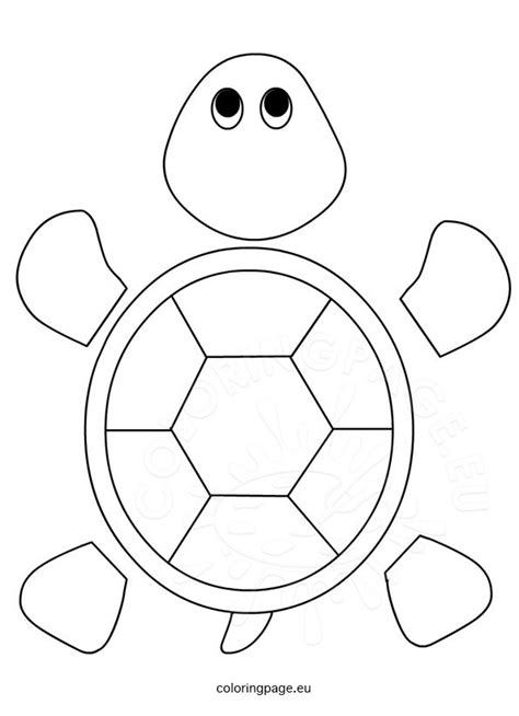 turtle paper plate craft template sea turtle cut out pictures to pin on pinsdaddy