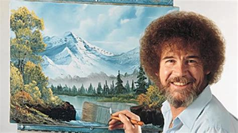 bob ross paints new the of statistically analyzing bob ross happy