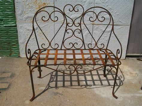 wrought iron patio chair wrought iron bench patio furniture