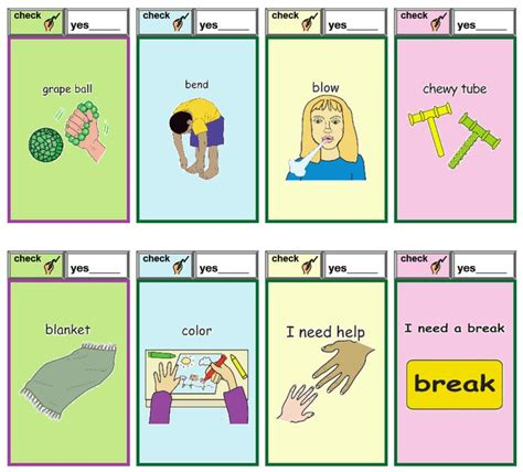 Behaviour Modification Chart For Elderly by 268 Best Images About Visual Learning Cue Cards On