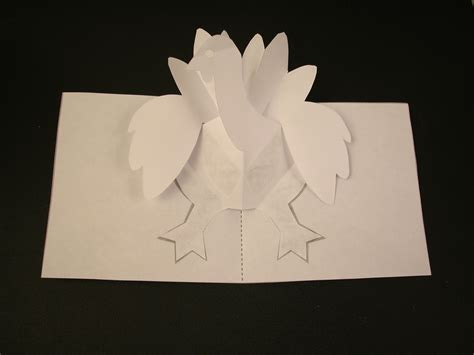 pop up cards for to make how to make a turkey pop up card robert sabuda method