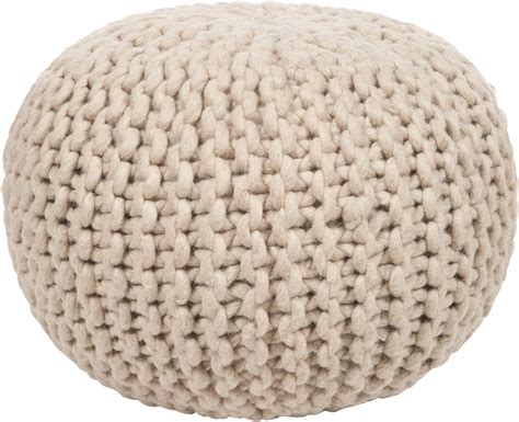 knitted poofs surya pouf 78 pouf sur pouf 78
