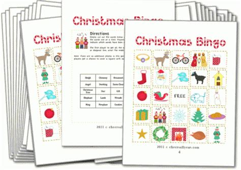 free printable for groups bingo with pictures for