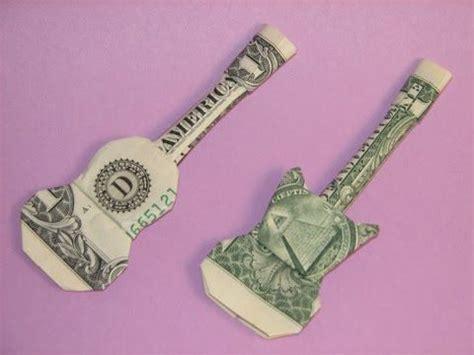 dollar bill origami guitar best 25 guitar ideas on guitar crafts
