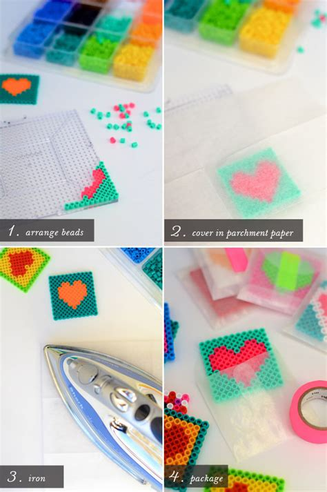parchment paper for perler diy perler bead valentines camille styles the
