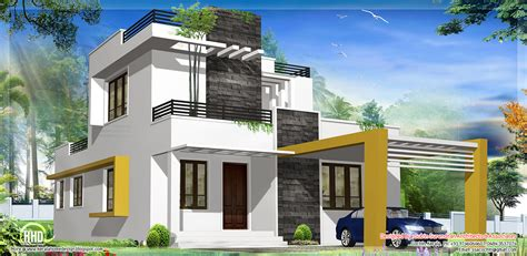modern house plan 1500 sq beautiful modern contemporary house kerala home design and floor plans