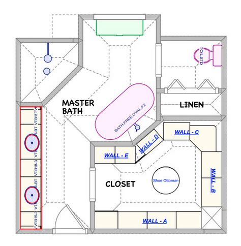 bathroom with walk in closet floor plan is this a closet to die for sherwood lifestyles