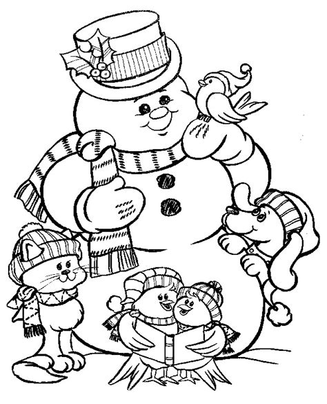 father christmas pictures to colour free download clip