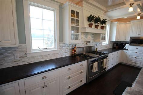 kitchen backsplash white cabinets 25 stylish galley kitchen designs designing idea