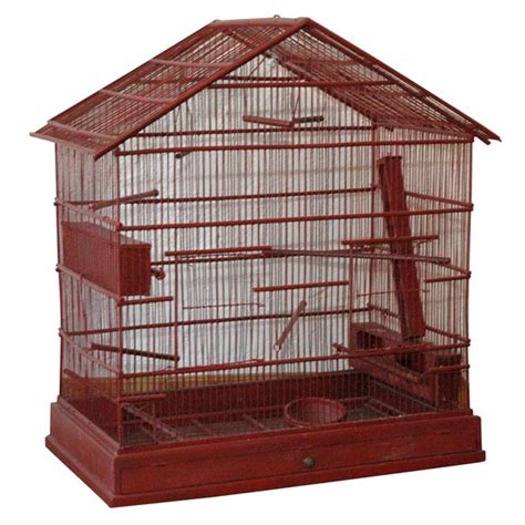 bird cage plans woodworking large wire and wood birdcage for sale at 1stdibs