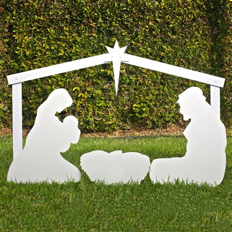 outdoor creche 1000 ideas about outdoor nativity sets on