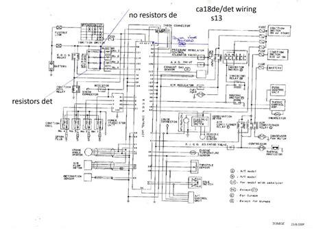 ca18det to 1200 wiring forum forum datsun 1200