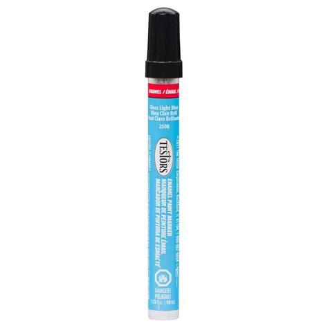 home depot paint pen testors light blue gloss enamel paint marker 6 pack