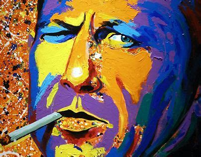 acrylic paints jacksons check out new work on my behance portfolio quot jackson