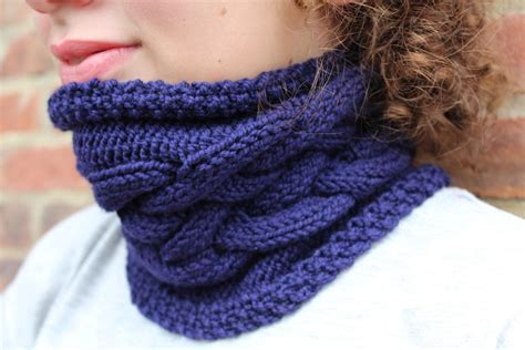 free knitted cowl patterns cables 10 free aran knitting patterns on craftsy