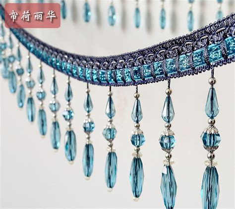 beaded trim for drapes get cheap beaded fringe trim aliexpress