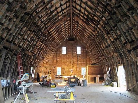 Gambrel Roof Homes warren county barn gets a facelift ncpr news