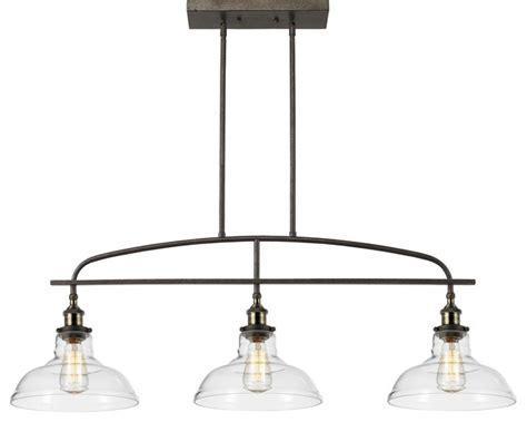 island lights felix 3 light pendant industrial kitchen island