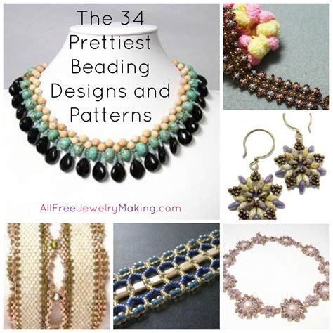 all free jewelry beader s digest the 34 prettiest beading designs and