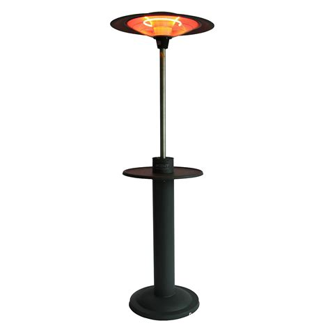 best electric patio heaters outtrade free standing electric patio heater with table