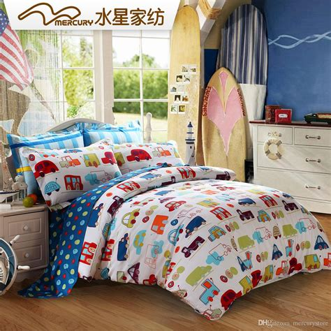 car bedding sets mercury home textile 100 cotton printed bedding sets with
