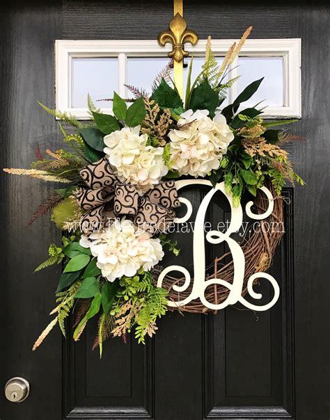 door wreaths best seller wreaths for front door front door by fleursdelavie