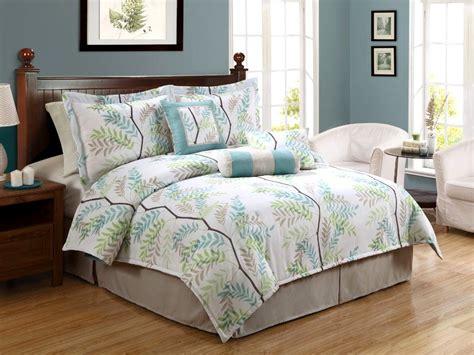 tree bed sets barbados green seashell 8 comforter set