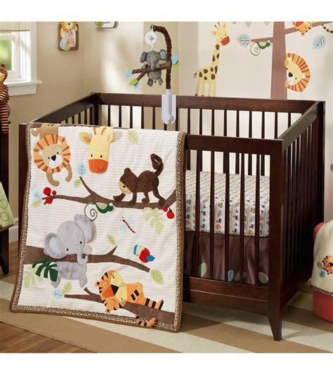 lambs and crib bedding lambs treetop buddies 4 crib bedding set